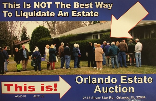estate sale in Cocoa Beach Florida